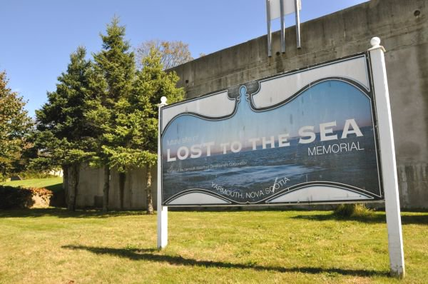 Lost to the Sea Site Sign
